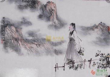 雨枫轩 古典诗词 五言古诗 > 春望           国破山河在,城春草木深.图片