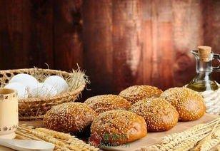 卖面包的小女孩
