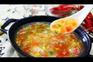 一碗西红柿鸡蛋汤