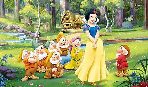 后来,白雪公主爱上了小矮人